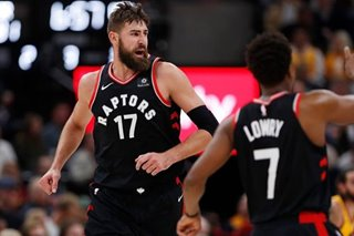 NBA: Slow-starting Raptors finish off Jazz