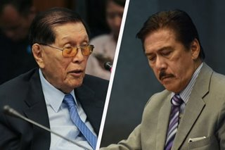Sotto unfazed by Enrile's bid for Senate return