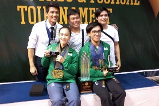 Sweet exit for Babanto, as La Salle reclaims UAAP poomsae crown