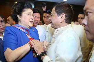 Duterte won't meddle in Imelda Marcos graft conviction - Palace