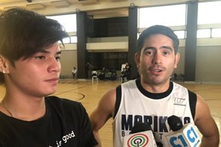 Gerald Anderson, Ronnie Alonte excited sa 'Kapamilya Playoffs' sa Taiwan