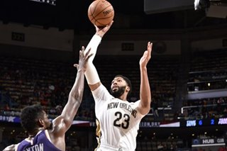 Davis' double-double powers Pelicans past Suns