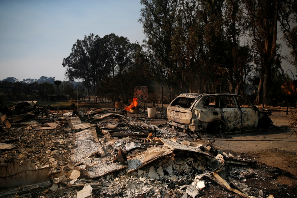 California wildfires: At the very least 5 useless, 15,000 houses threatened