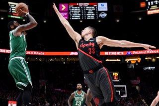 NBA: Lillard-Kyrie duel, Blazers outlast Celtics