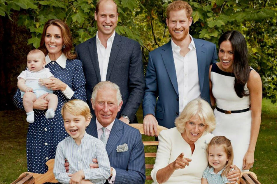 Meghan Markle & Royals Celebrate Prince Charles' 70th Birthday With Stunning Family Portraits
