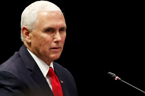 Pence: South China Sea doesn't belong to any one nation