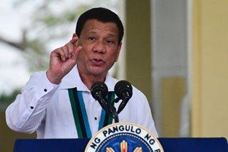 Duterte says 'unfair' to tag him in killing of Batangas mayor