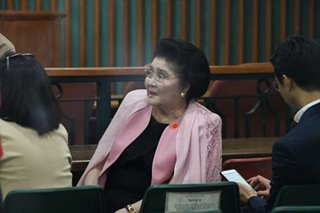 Sandiganbayan to transmit Imelda case records to Supreme Court