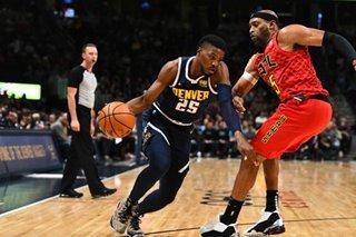 NBA: Nuggets end skid, manhandle hapless Hawks