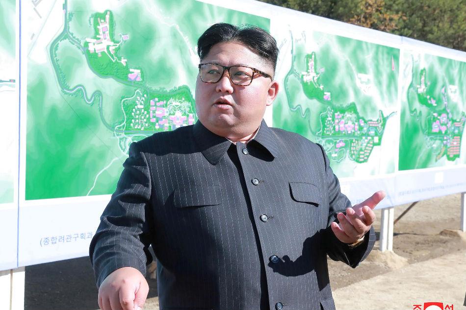 "Hasil gambar untuk Kim Jong Un inspects test of new ""tactical"" weapon: KCNA"
