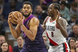 NBA: Timberwolves maintain balance, blast Blazers