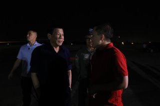 Duterte back in PH after APEC summit in Papua New Guinea