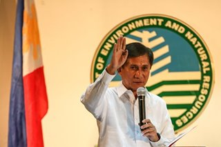 Cimatu warns DENR officials in Cebu: Clean up polluted rivers or face ax