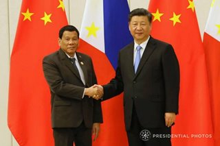 Duterte to pressure Xi on China's loan pledges - spokesman