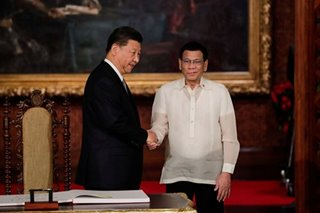 Duterte recalls talks with Xi: No US presence on Pag-asa island, so why the ships?