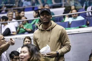 UAAP: 'Super traffic' doesn't stop Ben Mbala attending La Salle game