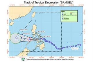 PAGASA warns of heavy rains as Samuel heads to Iloilo