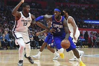 NBA: Clippers post OT win to halt Grizzlies' win streak