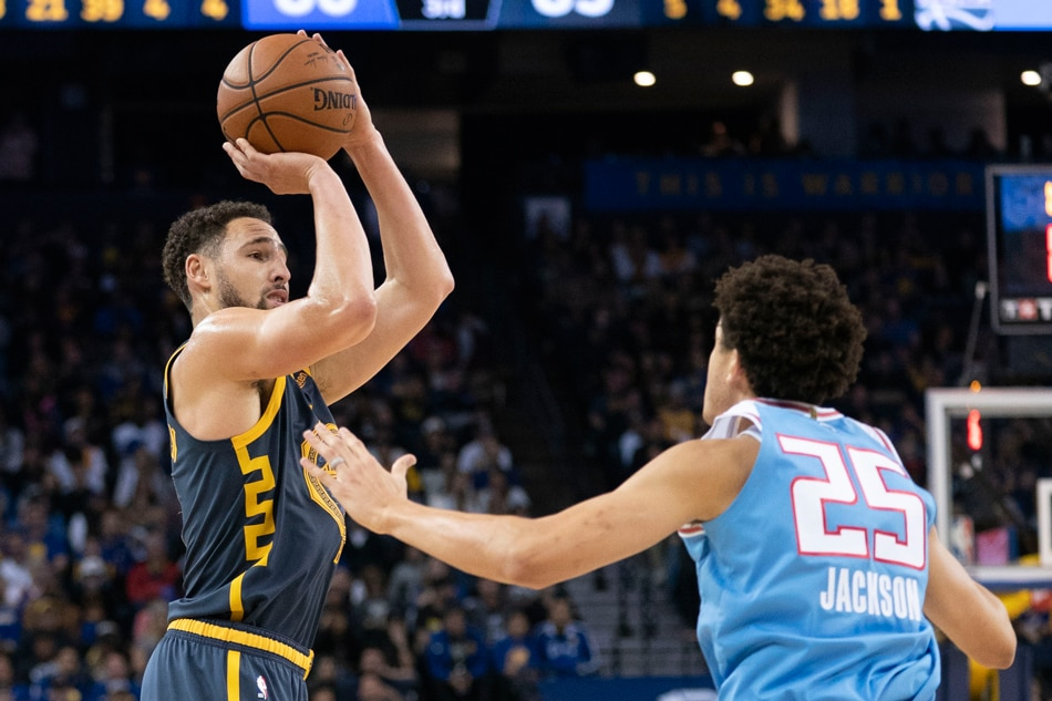 Image result for klay thompson warriors usa today sports