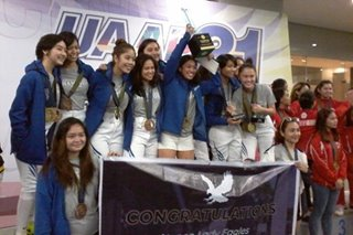 UAAP: UE rules men's fencing, Ateneo claims women's title