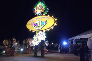 LOOK: Las Vegas-inspired welcome marker in Bacolod