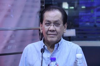 Osmeña on martial law detention: 'I forgive everybody'