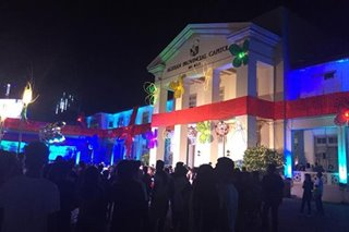 'Magical Christmas' tema ng holiday decor sa Agusan del Norte Capitol