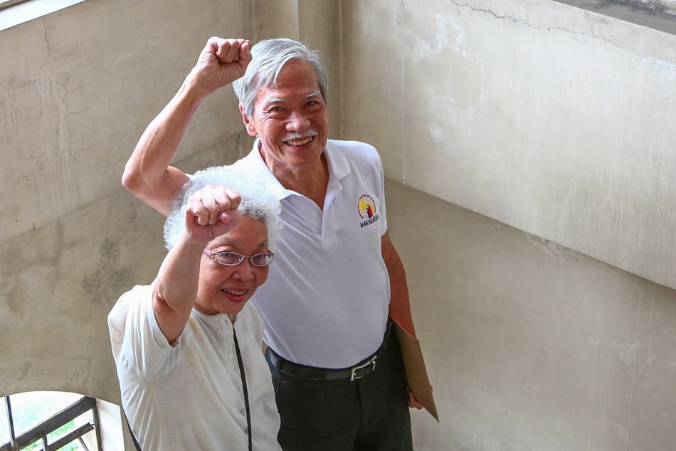 Satur Ocampo released from detention