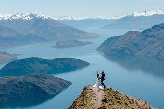 LOOK: Prenup shoot of Slater Young, Kryz Uy in New Zealand