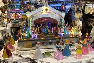 LOOK: Disney-inspired Christmas village in Bacolod City
