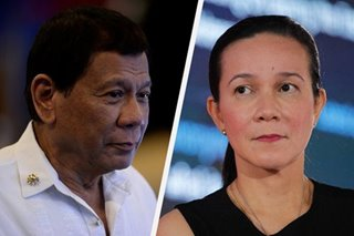 'I've come to get used to it': Grace Poe unfazed by Duterte marijuana joke