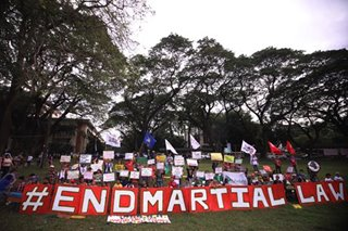 Rights body raps 3rd martial law extension