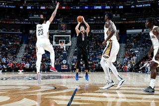 Clippers ride 77-point first half to win over Pelicans
