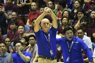 UAAP finals: Sweep doesn't reflect how 'really tough' UP is, Tab Baldwin says