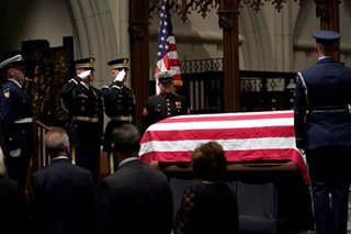 Bush to be buried after 4-day tribute
