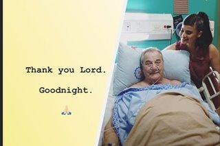 'Thanks for the prayers': Anne Curtis' dad safely recovering after operation