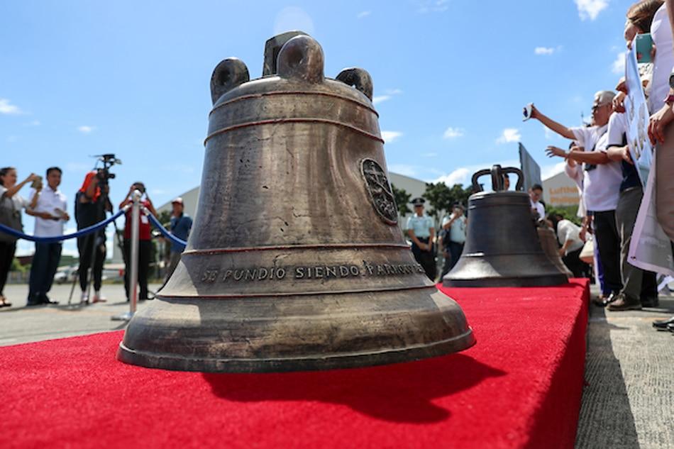 20181211-balangiga-bells-villamor-jc-3137 - Not one bell less: Samar diocese nixes Zubiri plea - LGU Philippines