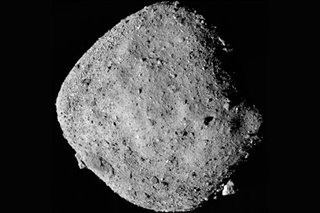 NASA probe finds signs of water on nearby asteroid Bennu