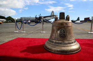 IN PHOTOS: 'Time for healing,' as Balangiga Bells returned to Philippines