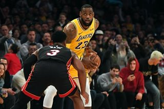 Lakers, LeBron take final matchup with Heat's Wade