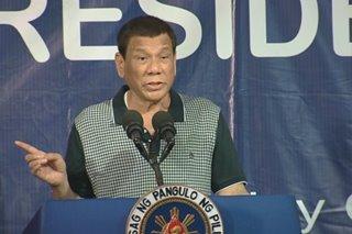 Duterte, dadalo sa turnover ng Balangiga bells sa Eastern Samar