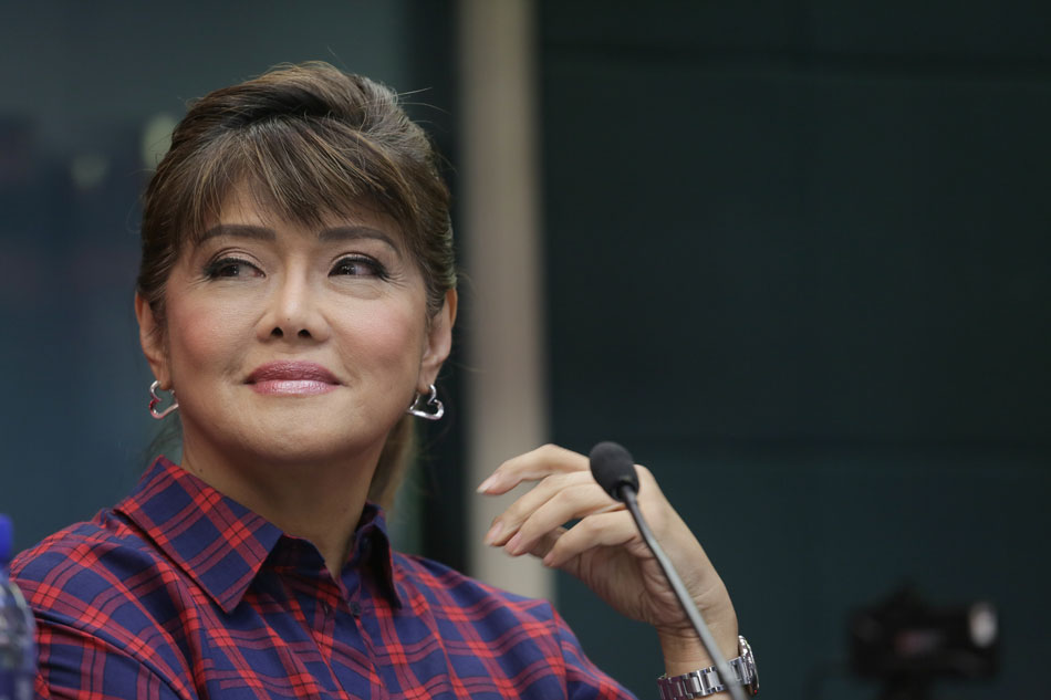 Imee Marcos tells critics after voting: 'Give us a chance'