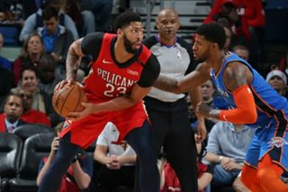 NBA: Pelicans' Davis in limbo until GM hired