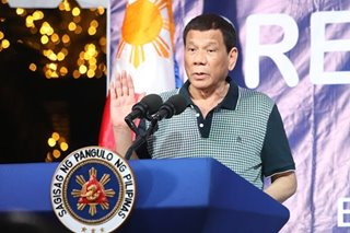 Duterte jokes about raffling off presidential burial plot at Libingan