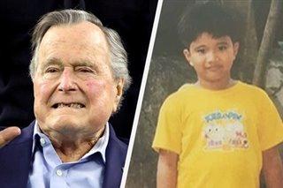 George H.W. Bush secretly sponsored Filipino boy, letters reveal