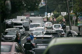 A Mabuhay lane in Christmas 'carmageddon'