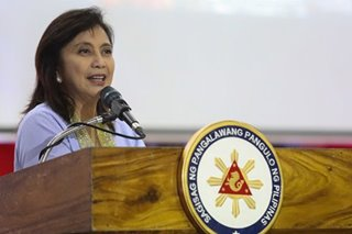 Plan in place to run for president? Robredo says no, but she's not closing the door