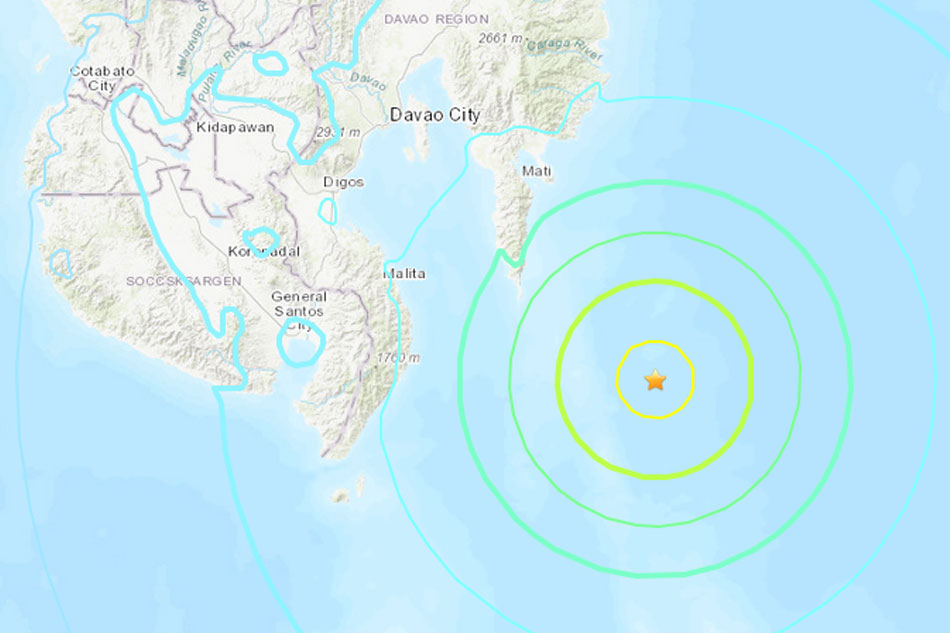 Tsunami threat after 6.9-magnitude quake  strikes southern Philippines