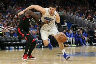NBA: Vucevic has 30 points, 20 rebounds as Magic rout Raptors