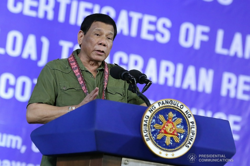 Philippine President Rodrigo Duterte said he sexually assaulted a maid